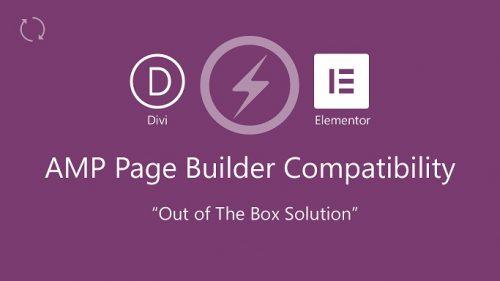 AMP – Pagebuilder Compatibility
