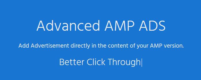 AMP – Advanced AMP ADS