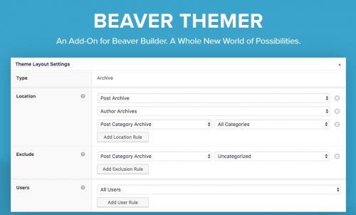 Beaver Themer – A WordPress Theme Builder Addon For...
