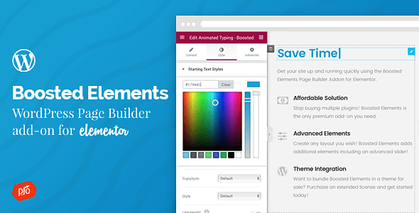 Boosted Elements | WordPress Page Builder Add-on for Elementor...