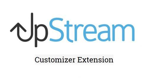 UpStream – Customizer