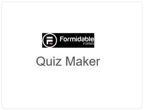 Formidable Forms –  Quiz Maker