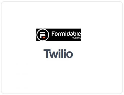 Formidable Forms – Twilio WordPress SMS