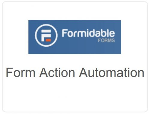 Formidable Forms – Form Action Automation ( Autoresponder )