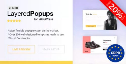 Popup Plugin for WordPress – Layered Popups
