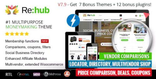 REHub – Price Comparison, Affiliate Marketing, Multi Vendor Store,...