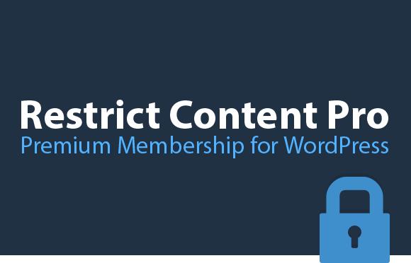 Restrict Content Pro Core – WordPress Plugin