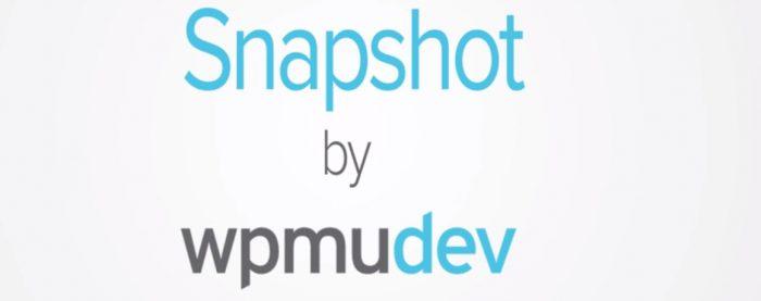 WPMU DEV – Snapshot Pro