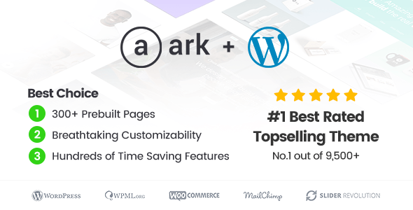 The Ark | WordPress Theme made for Freelancers