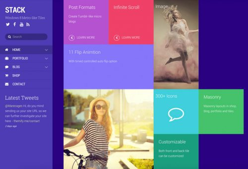 Themify – Stack