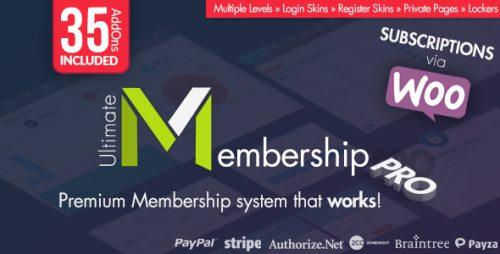 Ultimate Membership Pro – WordPress Membership Plugin