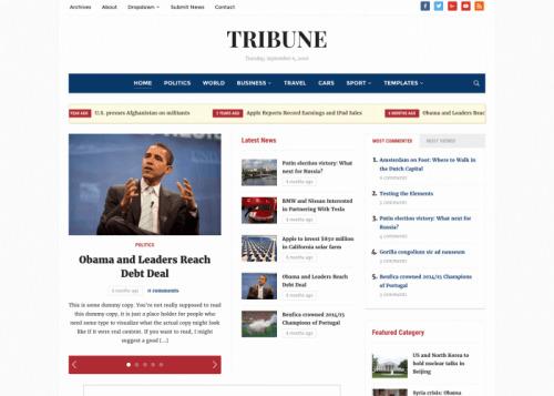 WPZOOM – Tribune