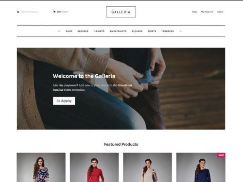 Storefront – Galleria