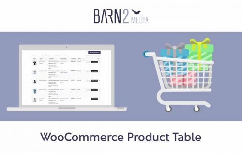 WooCommerce Product Table (By Barn2 Media)