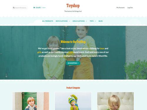 Storefront – Toyshop