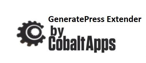 CobaltApps – GP Extender (Extend the GeneratePress Theme Framework)