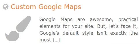 GeoDirectory – Custom Google Maps