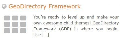 GeoDirectory – GeoDirectory Framework