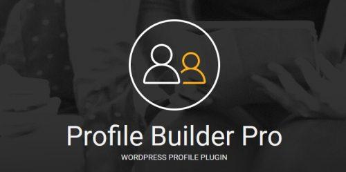 Profile Builder Pro Core – WordPress Profile Plugin