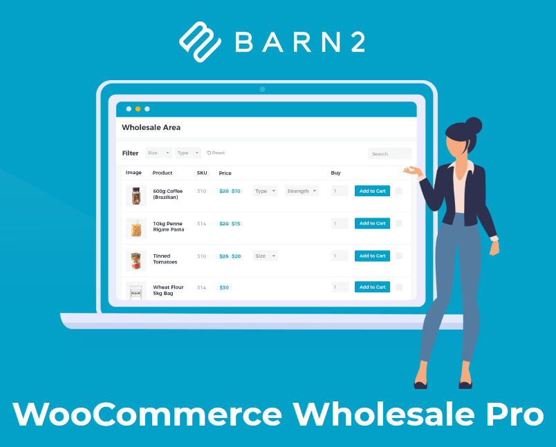 WooCommerce Wholesale Pro (By Barn2 Media)