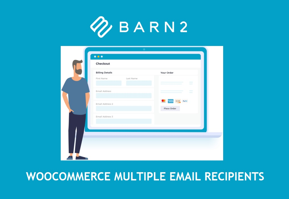 WooCommerce Multiple Email Recipients (By Barn2 Media)