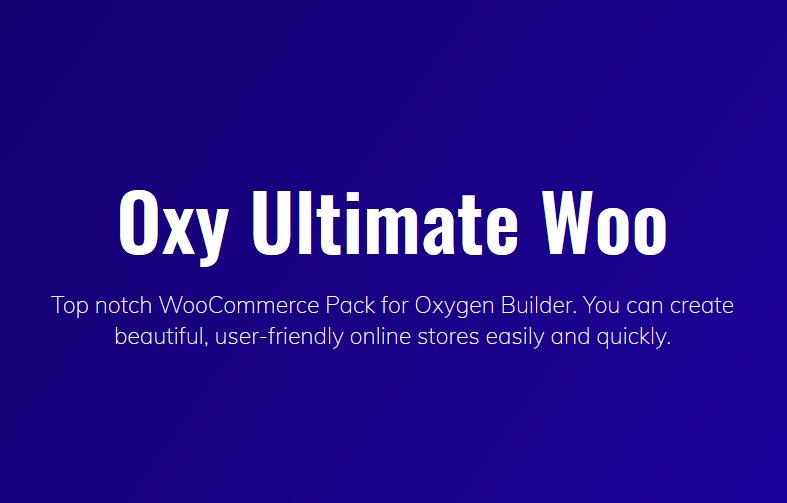 Oxy Ultimate Woo