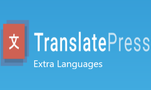 TranslatePress – Extra Languages Add-on