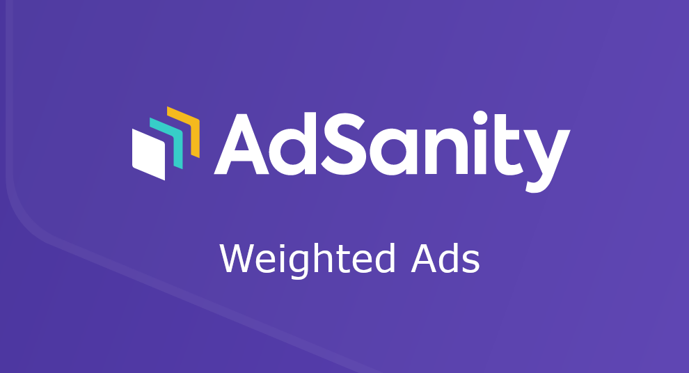AdSanity – Weighted Ads