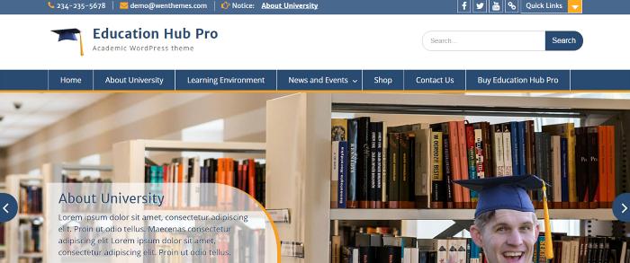 Theme Palace – Education Hub Pro