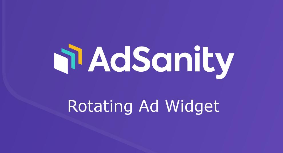 AdSanity – Rotating Ad Widget
