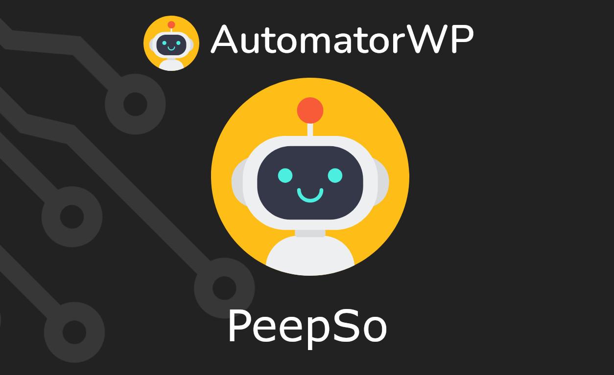 AutomatorWP – PeepSo