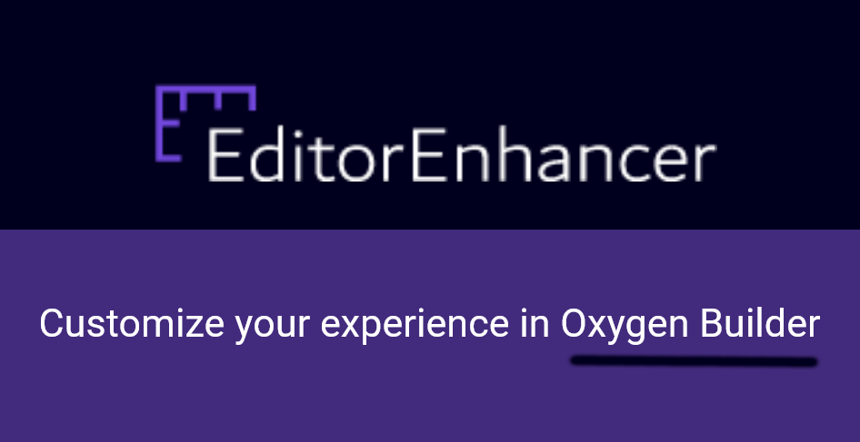 Editor Enhancer