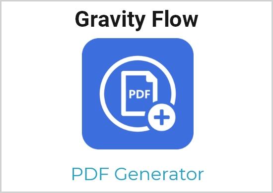 Gravity Flow – PDF Generator Extension