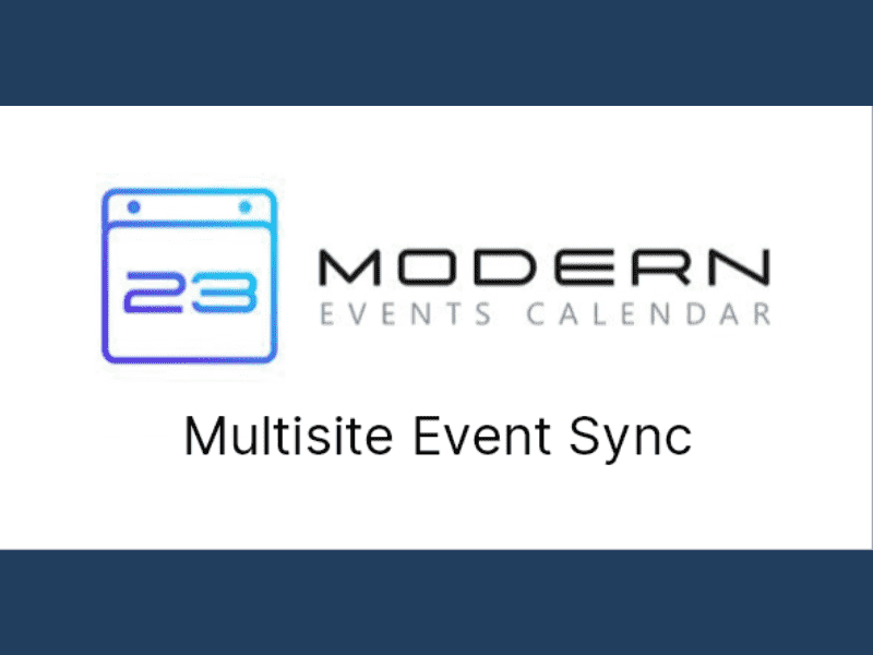 Modern Events Calendar – Multisite Event Sync for MEC