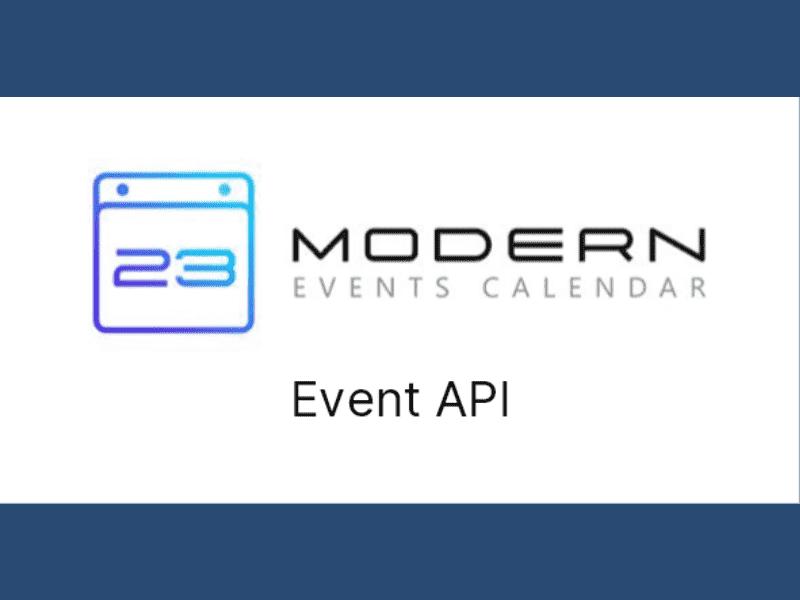 Modern Events Calendar – Event API for MEC