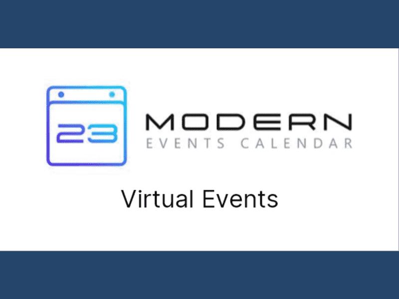 Modern Events Calendar – Virtual Events