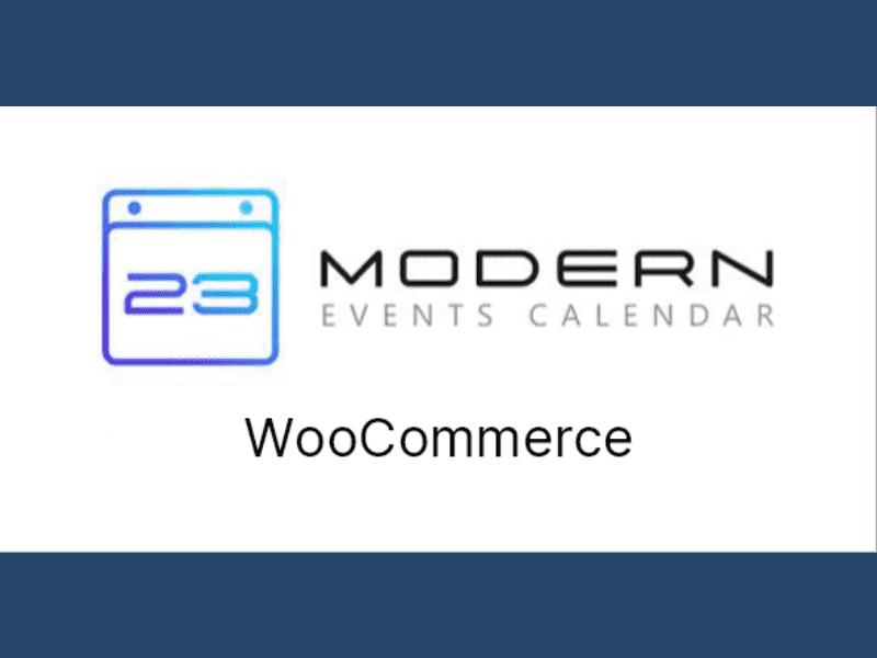 Modern Events Calendar – WooCommerce Integration for MEC