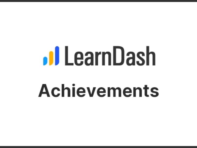 LearnDash – Achievements