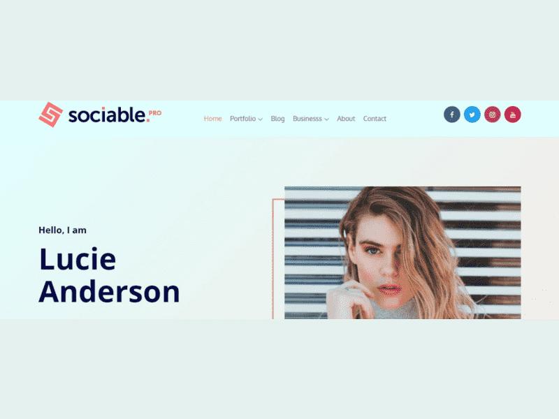Theme Palace – Sociable Pro