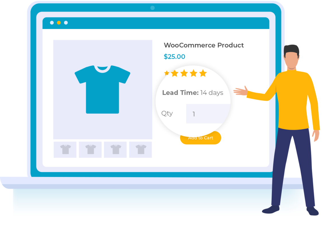 WooCommerce Lead Time (By Barn2 Media)