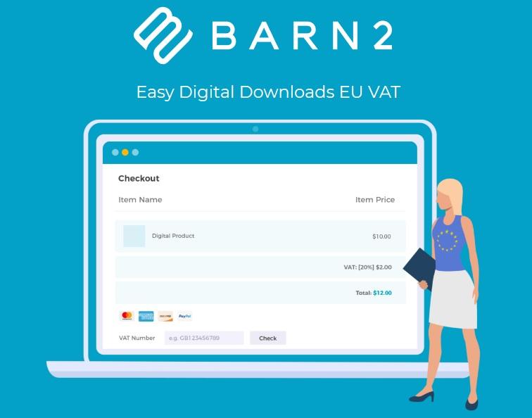 Easy Digital Downloads – EU VAT (By Barn2 Media)