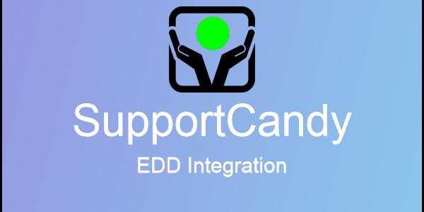 SupportCandy – EDD Integration