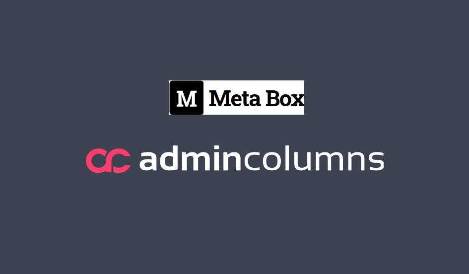 Admin Columns Pro – Meta Box